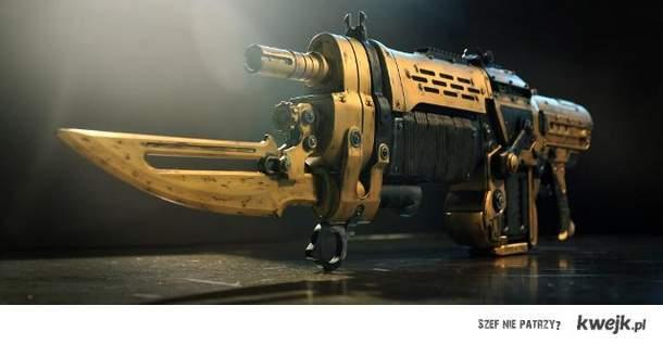Złoty Retro Lancer