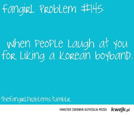 fangirl problem