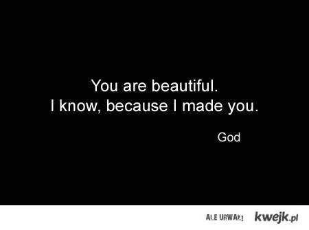 thanks, god