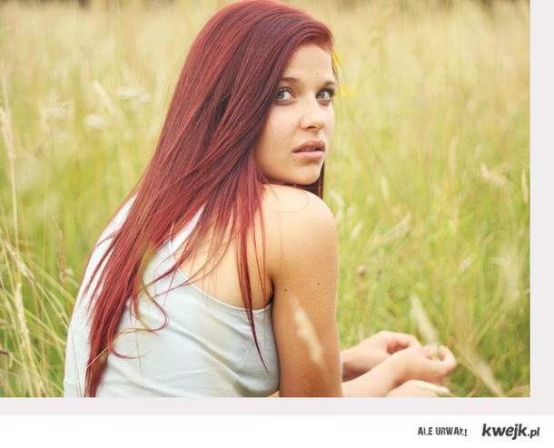 red hair <3