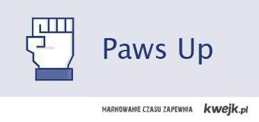 paws up!