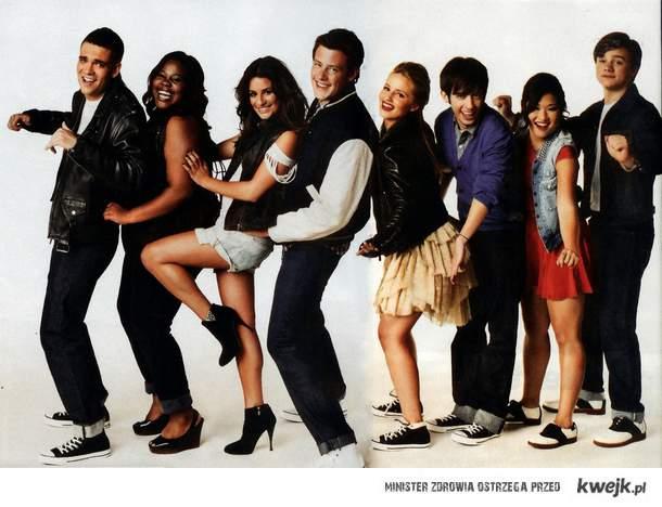 Wszyscy wielbimy Glee. Puck, Blaine. <3
