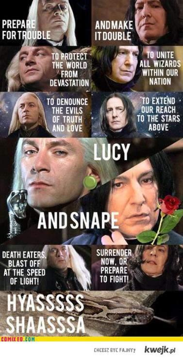 Lucjusz i Snape