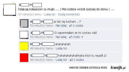 Rodzice na Facebook..
