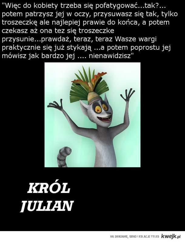 Król Julian w sprawach sercowyc