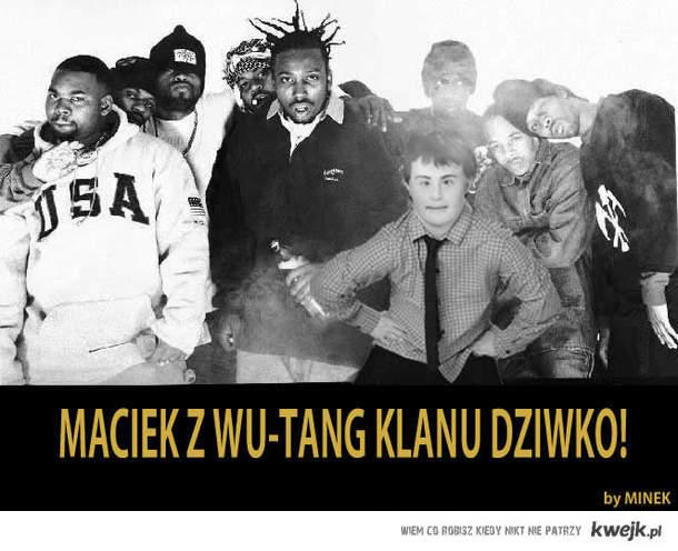 Maciek z Wu-Tang Clanu