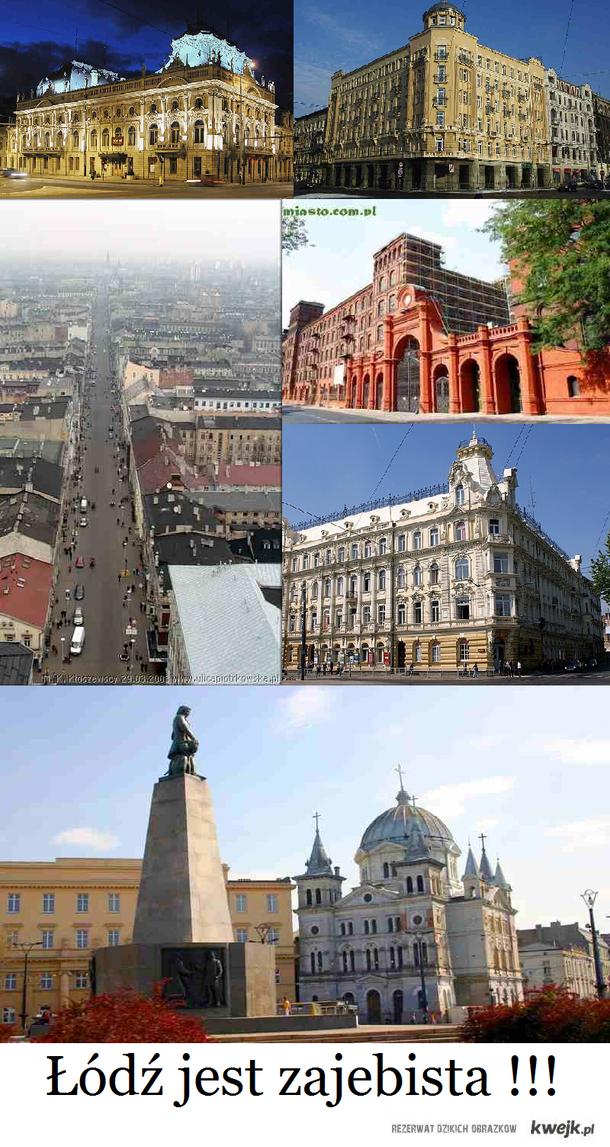 Łódź moje miasto