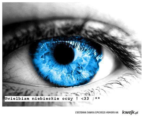 Oczy niebieskie życie królewskie