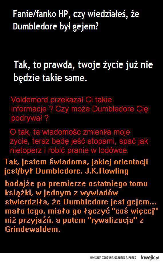 orientacja Dumbledore'a