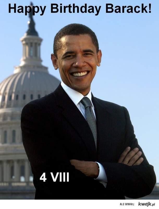 urodziny Obamy