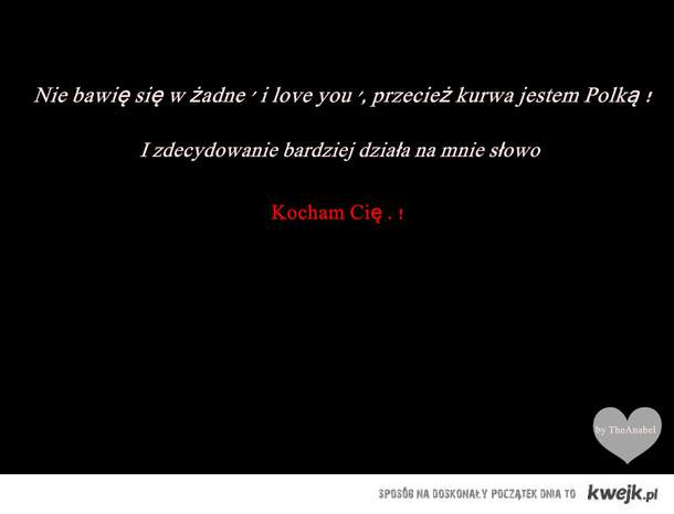 .. kocham cię ♥ ..