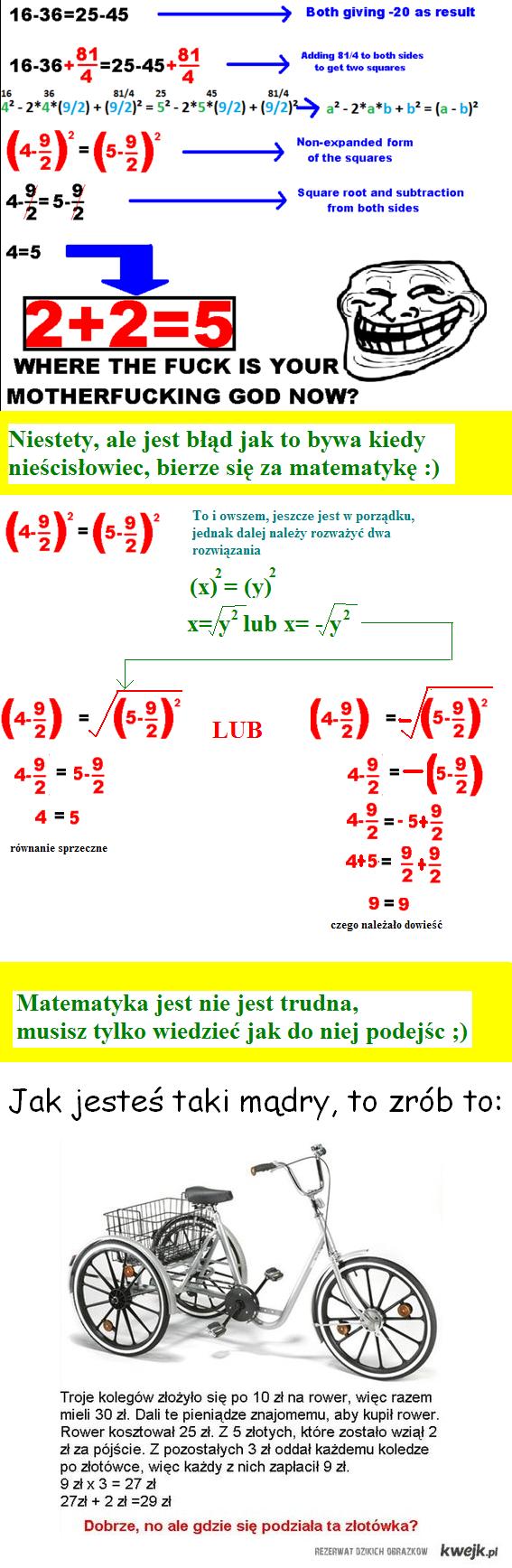 Równanie rowerowe