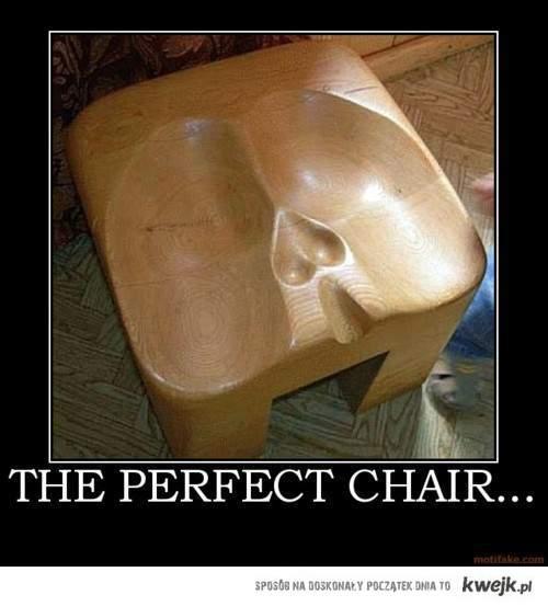 Najlepsze krzesło