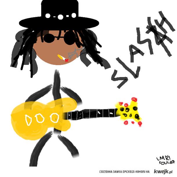 Jeszcze bardziej uproszczony rysunek Slasha
