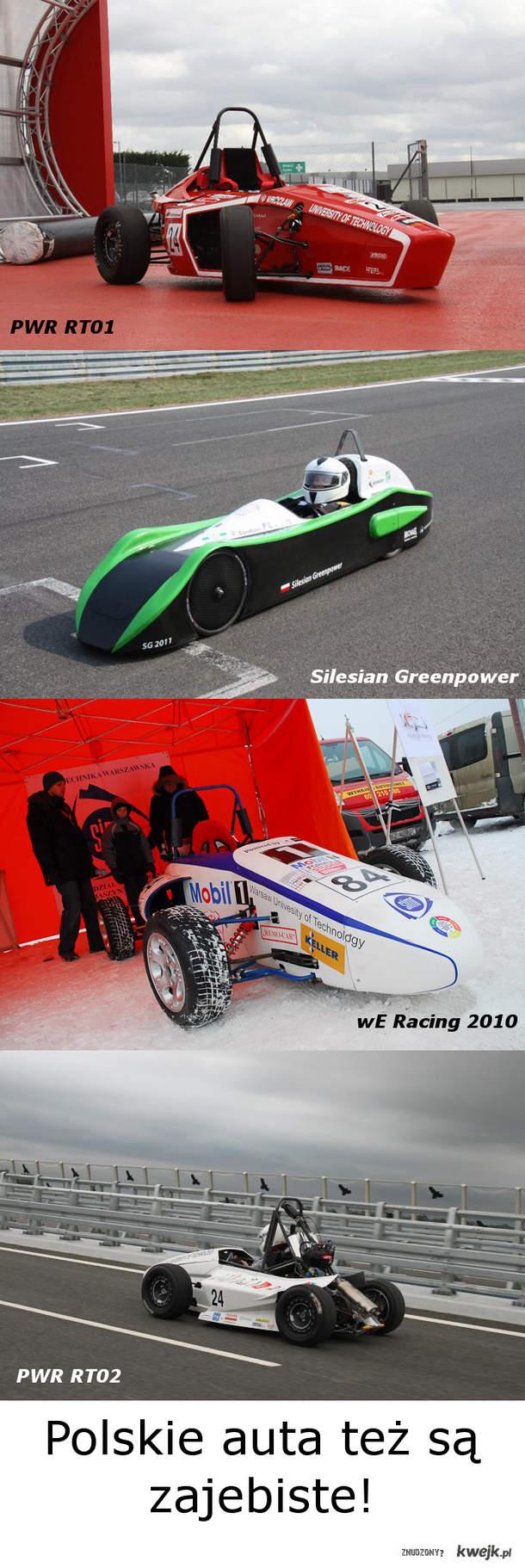 Formuła Student PWR RT01 RT02 SIMR Silesia Greenpower Polska Motoryzacja
