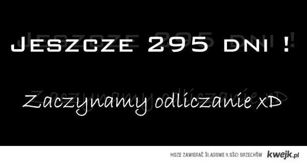 Jeszcze 295 dni!