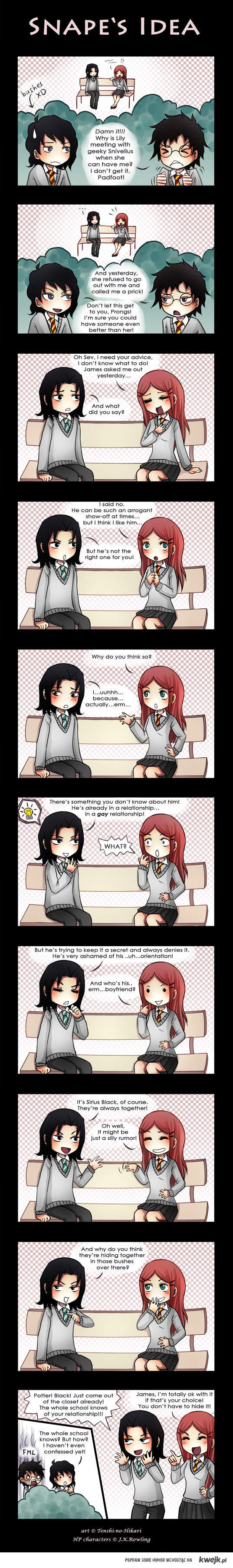 Snape's Idea