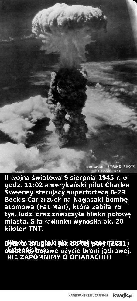 nagasaki bomba atomowa