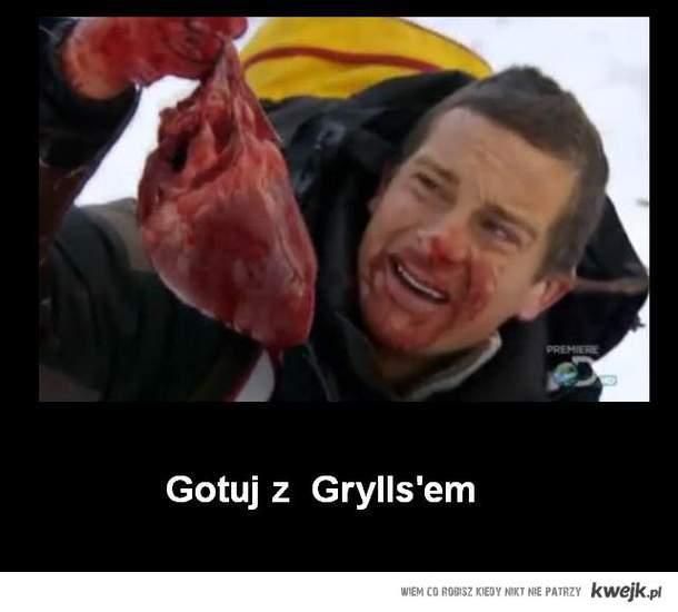 Gotuj z  Grylls'em
