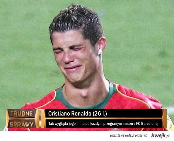 Cristiano Ronaldo - Trudne Sprawy