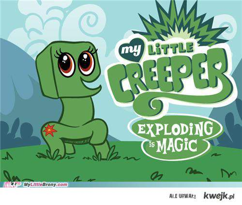 mój mały creeper