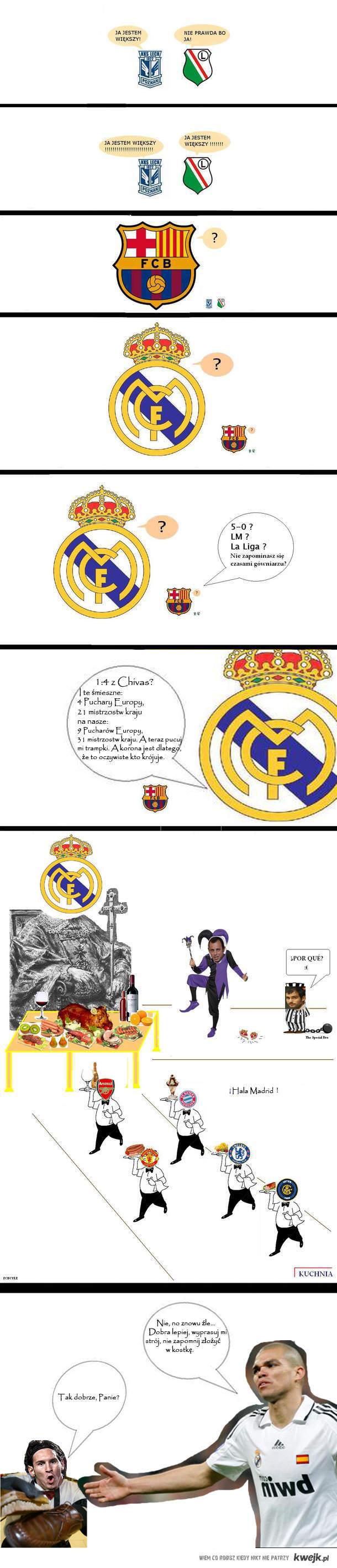 Tak tylko, żeby wkurzyć sezonowych fanów Barcy:)