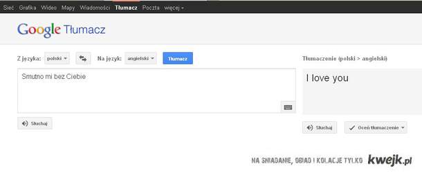 Twój perfekcyjny tłumacz.