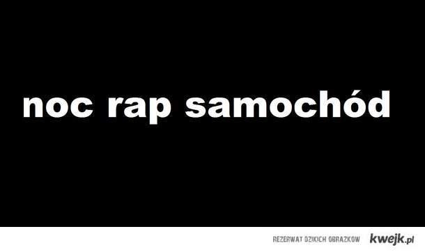 noc,rap,samochod