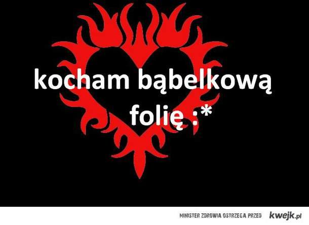 ♥kocham bąbelkową folię♥