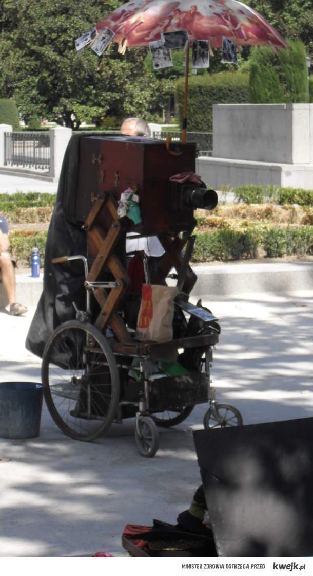 aparat antyk + mcdonld + wózek inwalidzki