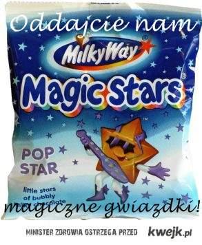 Tęsknimy za magicznymi gwiazdkami! ;*