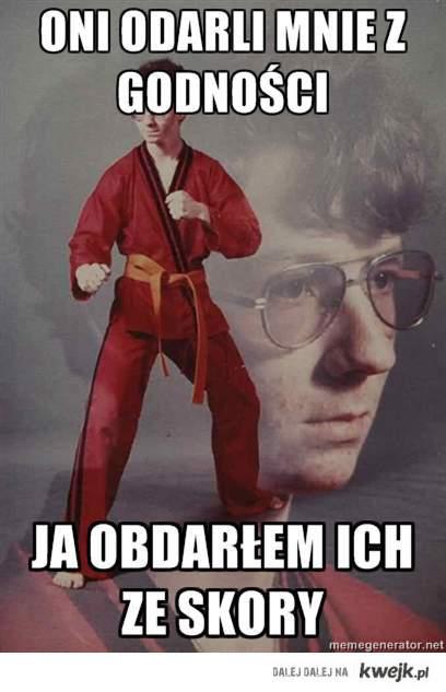 Murderer Karate Kid