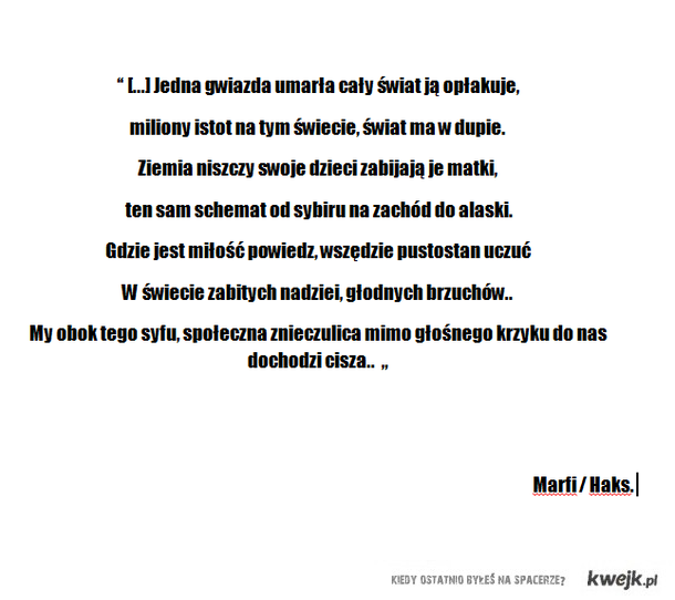 Marfi / Haks - Miłość..