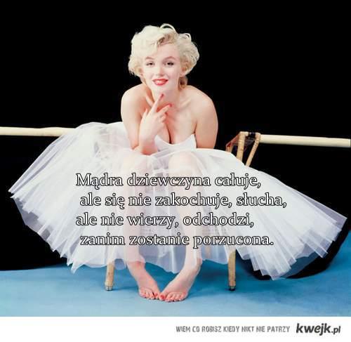 mądra dziewczyna...