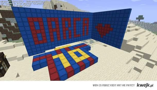 FC Barca Minecraft