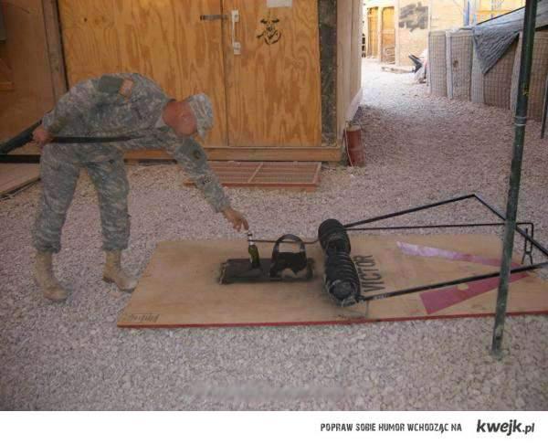 pułapka na żołnierza