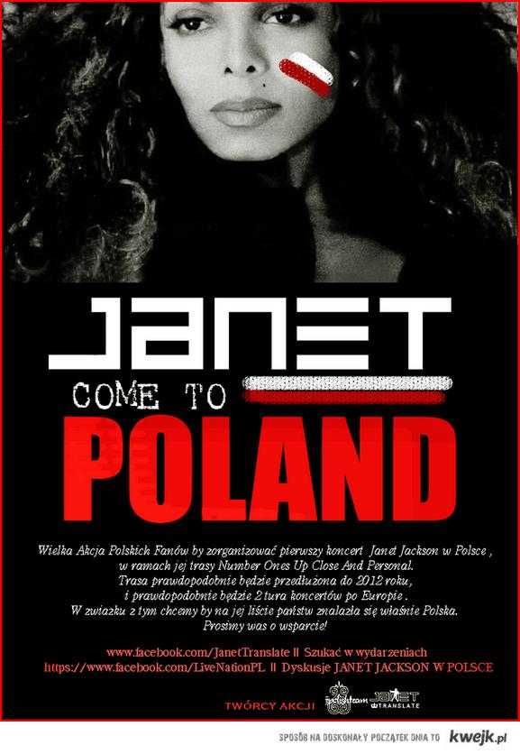 Janet Jackson - koncert w Polsce