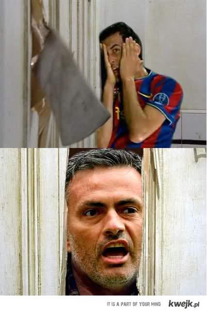 Mourinho i Busquets