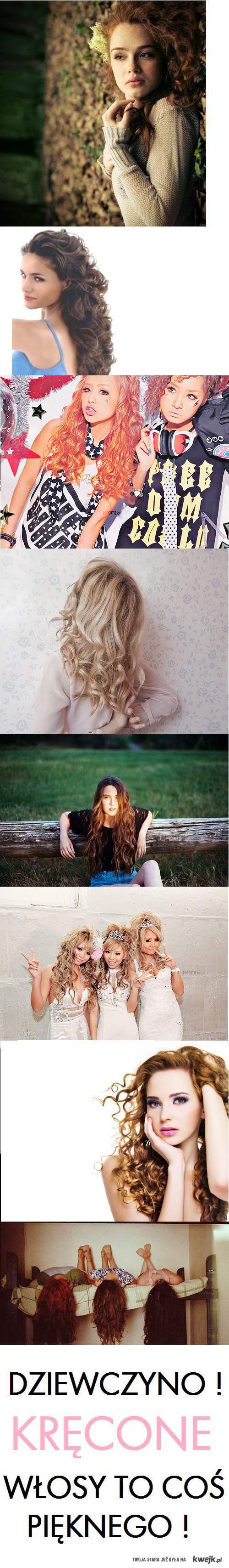 Kręcone włosy to coś pięknego !