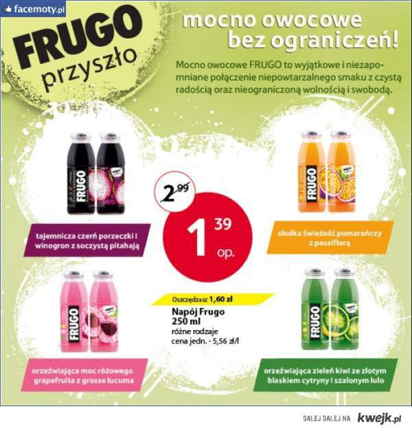 No to Frugo tesco