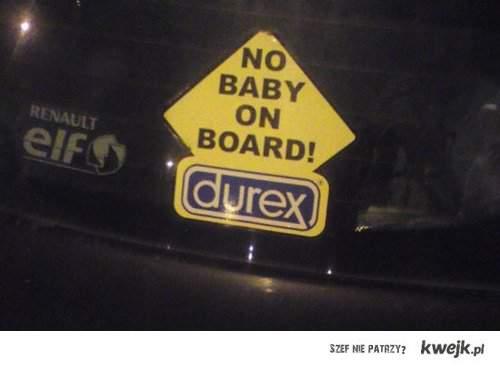 no baby ;p
