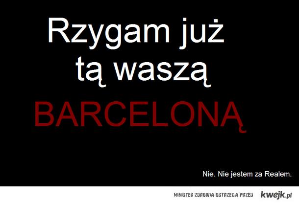 Rzygam barceloną