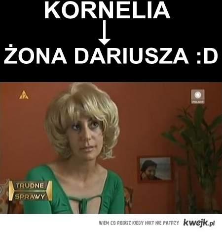 żona Dariusza