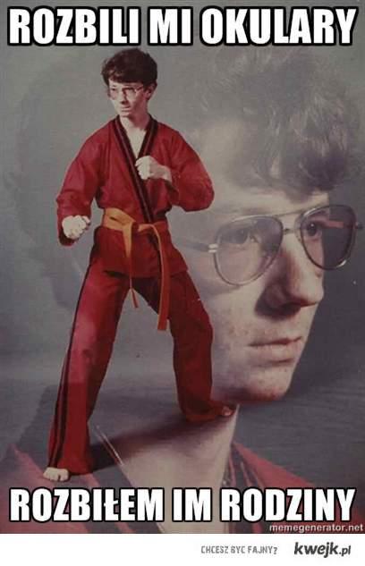 Okulary Karate Nerd