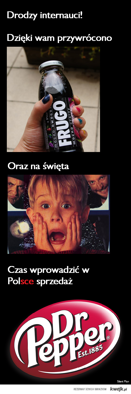Dr Pepper w Polsce