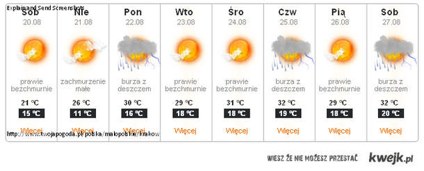 pogoda <3