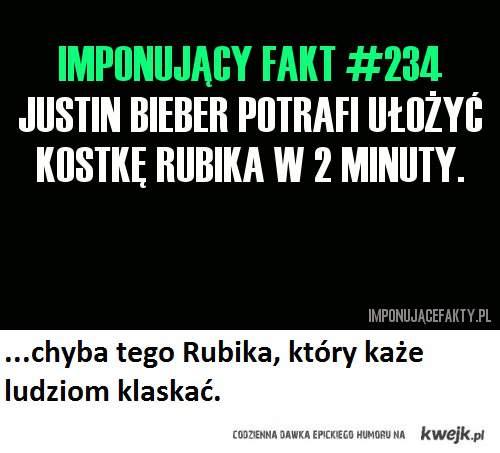 Bieber i Rubik