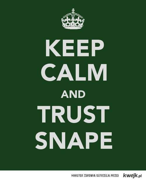 trust Snape