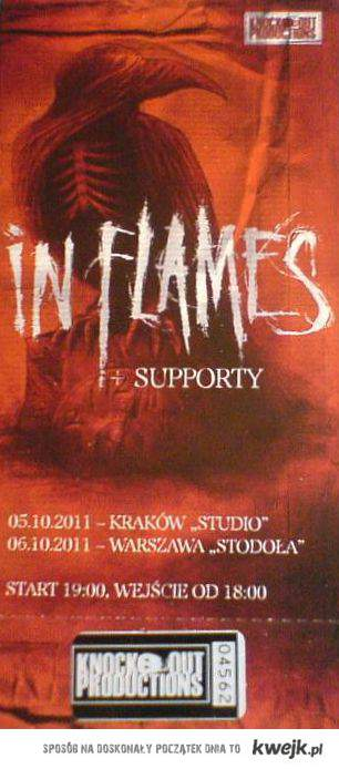 In Flames KUR*A!
