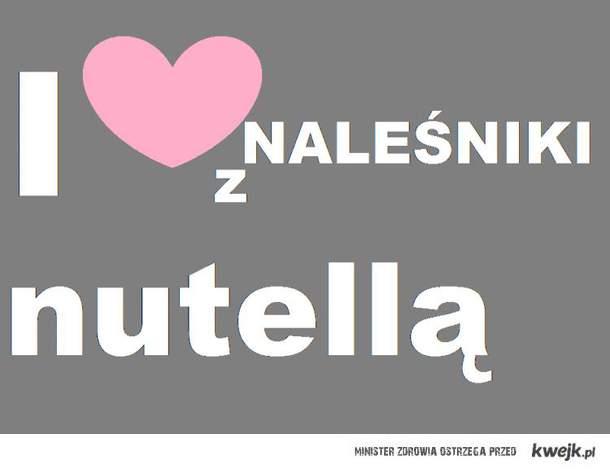 Naleźniki z Nuttlellą